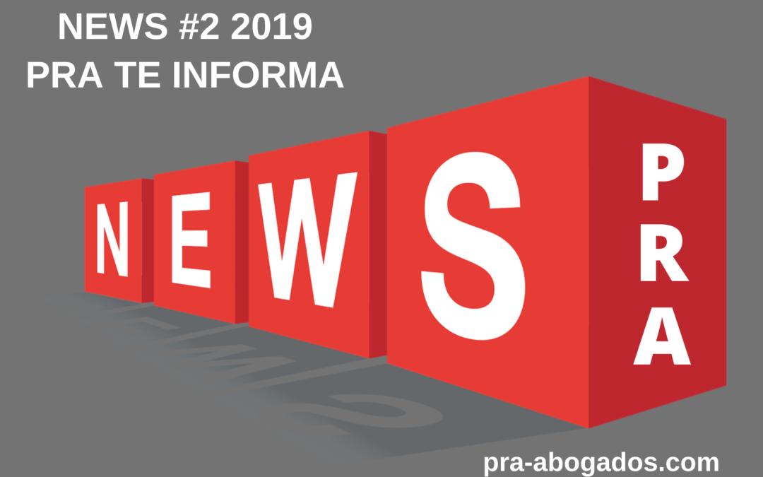 News #2 2019 – PRA TE INFORMA